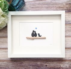 Hey, I found this really awesome Etsy listing at https://www.etsy.com/listing/272059974/pebble-art-couple-sea-glass-wall-art
