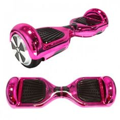 """Smart Electric Two Wheel Self 6.5"""" Balancing Hoverboard Scooter - Chrome Pink"""
