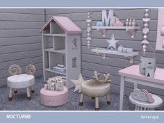 My Space — ***Nocturne*** TS4 Includes 18 objects: two...