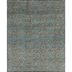Loloi Essex Rug - Twill/Blue | Floral Rugs | By Pattern | Rugs | Candelabra, Inc.