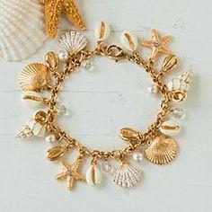 Daniel Lyons Coastal Treasures Charm Bracelet, Una Alla Volta