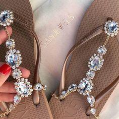 "2,263 Likes, 12 Comments - Swimwear on Show® (@swimwearonshow) on Instagram: ""🚨Save 15% off @sanjewels by using code : swimwearonshow  Beautiful jewelled beach sandals -…"""