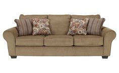 Galand - Umber Sofa... Yep.. this is what we decided on together with a love seat & ottoman!