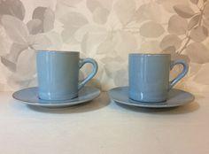 vaaleansiniset espressokupit . 2 kpl . @kooPernu