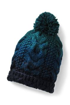 Women's+Ombre+Knit+Beanie+from+Lands'+End <  DC