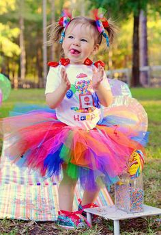 candyland tutu set candy land birthday party ideas