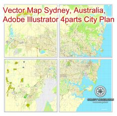 PDF map Sydney, Australia, printable vector street 4 parts City Plan map, full editable, Adobe PDF, full vector, scalable, editable, text format of street names, 66 Mb ZIP. DOWNLOAD NOW>>> http://vectormap.info/product/pdf-map-sydney-australia-printable-vector-street-4-parts-city-plan-map-full-editable-adobe-pdf/