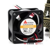 Free Shipping Original Y.S Tech FD244020EB 24V 0.08A 4CM 4020 24V inverter quiet cooling fan