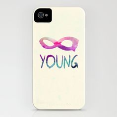 Forever Young iPhone Case by Jacqueline Maldonado - $35.00