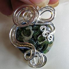 wire wrapping tutorials | WIRE WRAP BEADS AND HERRINGBONE DVD, jewelry making DVD, TUTORIAL ...