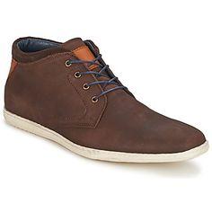 #botines de piel marrón de la marca Casual Attitude. #zapatoshombre #zapatillas