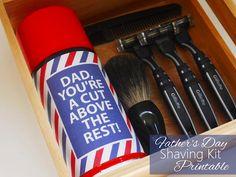 Shaving kit #fathersday