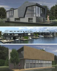 17 Extreme Houseboats and House Boat Designs: From Luxury Habitats to Humble Floating Homes   WebUrbanist
