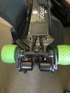 Evolve GT Carbon with 100mm MBS AT Longboard Wheels - Prebuilt Esk8 / Evolve GT - Electric Skateboard Builders Forum | Learn How to Build your own E-board