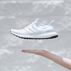 White Ultra Boost