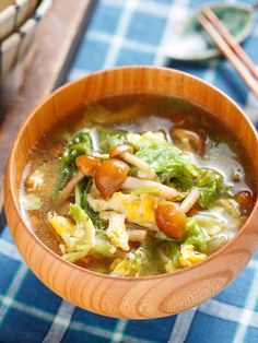 Japanese Food, Thai Red Curry, Soup Recipes, Food And Drink, Menu, Yummy Food, Diet, Cooking, Ethnic Recipes