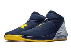 d80d7f9323f306 Jordan Why Not Zero.1 Michigan Mens Basketball Shoes 11 Navy Russell  Westbrook  Jordan