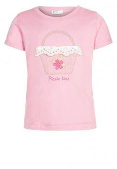 Benetton - T-Shirt print - rosa