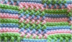Fun Spring Stitch for Afghan