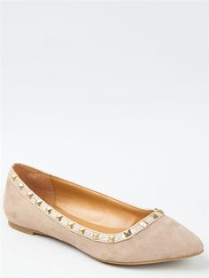 City Classified MONEY Studded Ballet Flat - $24.00