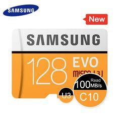 SAMSUNG Micro SD Memory Card 64GB 32GB 16GB MicroSD Cards SDHC SDXC Max 95M/s EVO C10 TF Trans Flash Mikro Card 128G