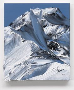 Conrad Jon Godly's Abstract Mountains Represent Power, Spirituality, and Imperishable Magnificence