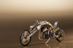 Steampunk Motorbike Design and execution -Korpan Pasha
