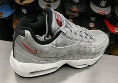 1352d8c8bb4e The Nike Air Max 95 gets a Silver Bullet makeover. Available April 15th for   160
