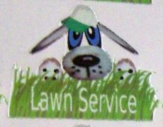 Planner stickers,dog lawn service, fits Erin Condren & Happy Planners & others