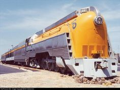 "Chesapeake & Ohio (C) » 490 was built for the streamlined ""Chessie."""
