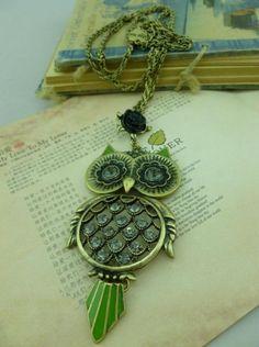 owl jewelry vintage