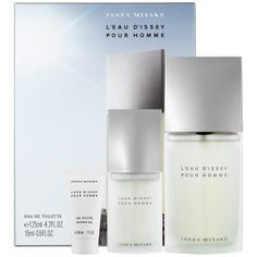 Father's Day Gift Ideas: Issey Miyake L'Eau d'Issey Pour Homme Gift Set  #Sephora #FathersDay #FathersDayGifts #ForDad #cologne #giftsets