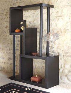 Etagere carton tubes- Le magazine des meubles en carton revient avec une table de chevet seventies, une étagère en tube, une petite console