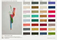 Spring/Summer 2015 Global Color Trends | Nidhi Saxena's blog about Patterns, Colors and Designs