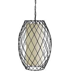 Modern Woven Pendant Lamp Pier one Pendant Lamp, Pendant Lighting, Pier One, Trestle Dining Tables, Home Lighting, Salon Lighting, Ceiling Lighting, Pier 1 Imports, Girl House