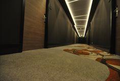 "Corridor ""Strandhotel Golfzang"""