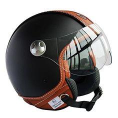 Peda-Diseo-Italiano-Moca-B-ECE-punto-del-estilo-del-cuero-de-la-motocicleta-del-casco-de-la-vendimia-para-Vespa-unisex-abierta-de-la-cara-ITALIA-Jet-Sport-Urban-Cascos-Capacete-Medio-casco-0