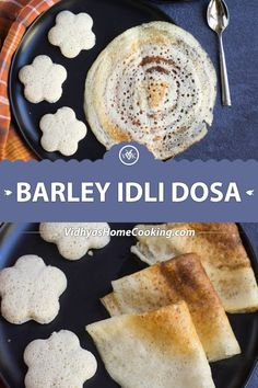 Barley Idli and Dosai Barley idli and dosa with the leftover or cooked barley after making the barley water. Recipe for soft and fluffy barley idlis and crispy dosai. Vegan Indian Recipes, Delicious Vegan Recipes, Vegetarian Recipes, Healthy Recipes, Barley Recipe Indian, Healthy Food, Deep Fried Recipes, Indian Breakfast, Breakfast Ideas