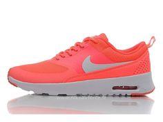 34ced0bb92c Nike Air Max Thea Pas Cher Femme Salmon Rouge Silver Air Max Thea Femme  Bordeaux
