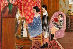 La Leçon de piano, 1923 Henri Matisse
