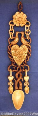 The origin and Symboism of the Welsh Love Spoon
