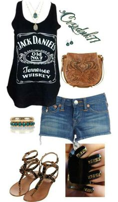 Jack Daniels outfit...I want!!!