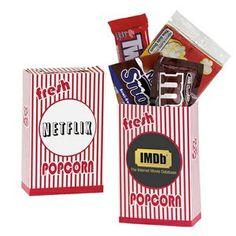 #Striped #Movie #SnackBox #Film Theme #event #Giveaway #BarMitzvah #BatMitzvah #PartyFavor