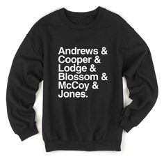 Andrews Cooper Lodge Blossom McCoy Jones Sweatshirt (Riverdale)