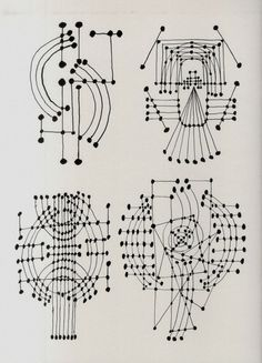 Constellation (ink drawing) - Pablo Picasso #art