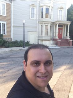Mark Sinacori at the Fuller House house at WB (August 2016)