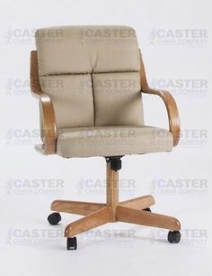 Caster Chair Company 5 Piece Caster Dining Set with Swivel Tilt Caster Chairs