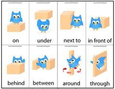 Motor Skills Preposition Game   Totschooling - Toddler and Preschool Educational…