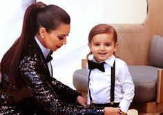 I'm not so much into the Kardashians, but Mason is just the CUTEST thing!!