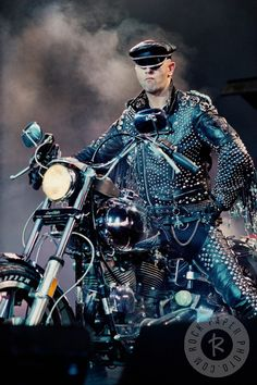 Rob Halford by Ken Settle